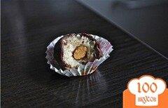 Фото рецепта: «Миндально-кокосовые шоколадные конфеты»