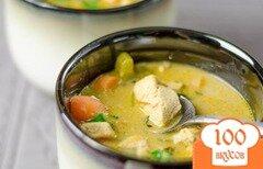 Фото рецепта: «Курица в молочном соусе»