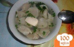 Фото рецепта: «Быстрые пельмешки на обед»