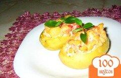 Фото рецепта: «Фвршированный картофель»