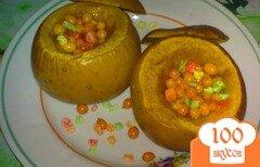 Фото рецепта: «Яблоки печеные с облепихой»