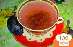 Фото рецепта: «Компот виноградный со сливами»