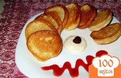 Фото рецепта: «Бабушкины оладушки»
