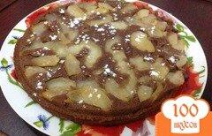 Фото рецепта: «Шоколадный манник»