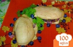 Фото рецепта: «Куриное филе с виноградом»