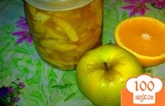 Фото рецепта: «Яблочное варение с апельсином»