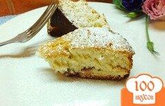 Фото рецепта: «Сливовый пирог на растительном масле»