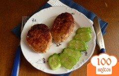 Фото рецепта: «Куриные котлеты с маслом внутри»