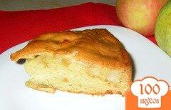 Фото рецепта: «Яблочная шарлотка оригинальная»