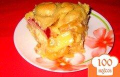 Фото рецепта: «Пирог из спелых яблок»