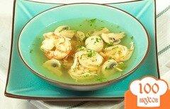 Фото рецепта: «Тайский суп с креветками»