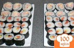 Фото рецепта: «Суши с креветками»