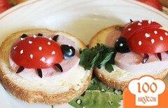 Фото рецепта: «Маленькие бутерброды для детей»