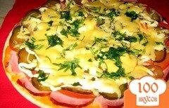 Фото рецепта: «Пицца с бужениной»