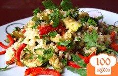 Фото рецепта: «Овощи-гриль с булгуром»
