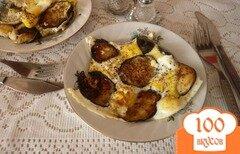 Фото рецепта: «Баклажаны с перепелиными яйцами»
