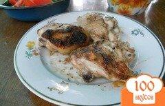 Фото рецепта: «Куриные бедрышки на мангале»