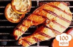 Фото рецепта: «Рыба гриль на решетке»