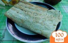 Фото рецепта: «Конверт из лаваша с курицей и сыром»