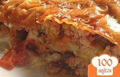 Фото рецепта: «Лазанья с фаршем в мультиварке»