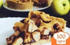 Фото рецепта: «Яблочный пирог с корицей»