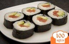 Фото рецепта: «Суши с сыром»