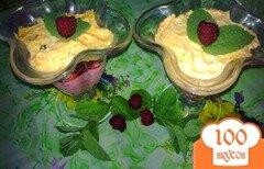 Фото рецепта: «Десерт творожный с малиной»