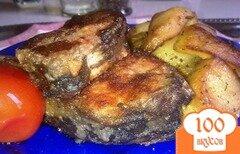 Фото рецепта: «Карп на сковороде»