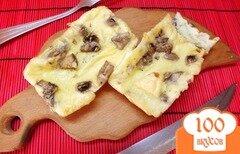 Фото рецепта: «Молочная фритата с шампиньонами»