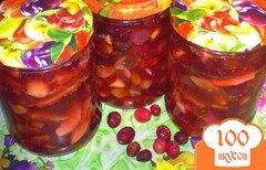 Фото рецепта: «Яблочное варенье с корицей и клюквой»