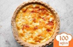 Фото рецепта: «Киш с сыром»
