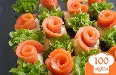 Фото рецепта: «Маленькие закусочные бутерброды»