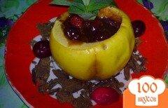 Фото рецепта: «Яблоки с начинкой»