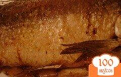 Фото рецепта: «Карп запеченный в духовке»