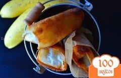 Фото рецепта: «Бананы с шоколадом в тесте брик»