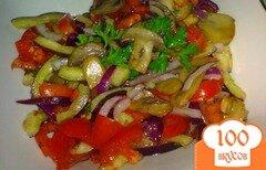 Фото рецепта: «Салат из помидор с грибами»