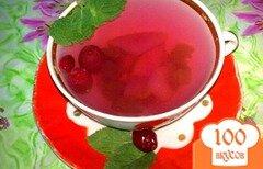 Фото рецепта: «Компот из груш с виноградом и клюквой»