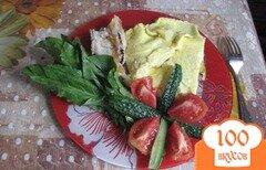 Фото рецепта: «Пышный домашний омлет»