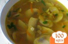 Фото рецепта: «Суп из свежих грибов»
