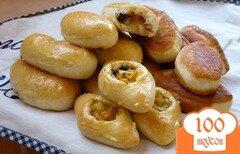 Фото рецепта: «Пирожки с грибами и капустой»