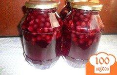 Фото рецепта: «Виноградный компот на зиму»