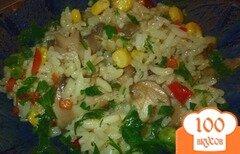 Фото рецепта: «Плов с грибами и овощами»
