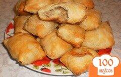 Фото рецепта: «Пирожки из слоеного теста с грибами и картошкой»