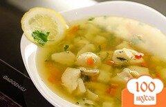 Фото рецепта: «Прозрачный рыбный суп»