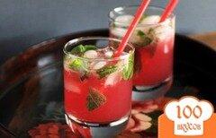 Фото рецепта: «Гранатовый мохито»
