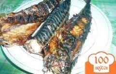 Фото рецепта: «Скумбрия, жаренная на мангале»