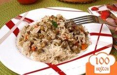 Фото рецепта: «Гарнир из маша и риса»