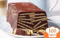 Фото рецепта: «Kalter Hund: вкусный десерт немецкой кухни»