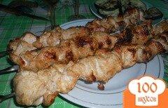 Фото рецепта: «Шашлык из куриной грудки»