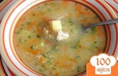 Фото рецепта: «Куриный суп с пшеном»